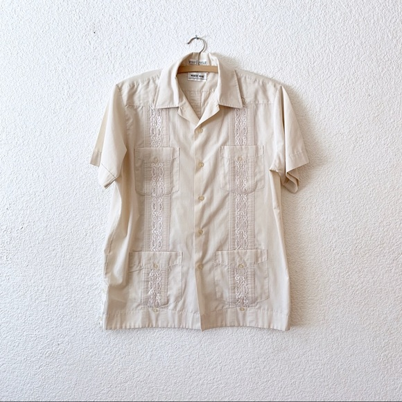 a7570b89c8bba Vintage 60s Rockabilly Cabana Hawaiian Shirt